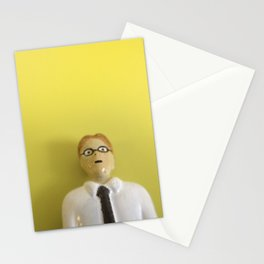 Yellow Accountant Stationery Cards