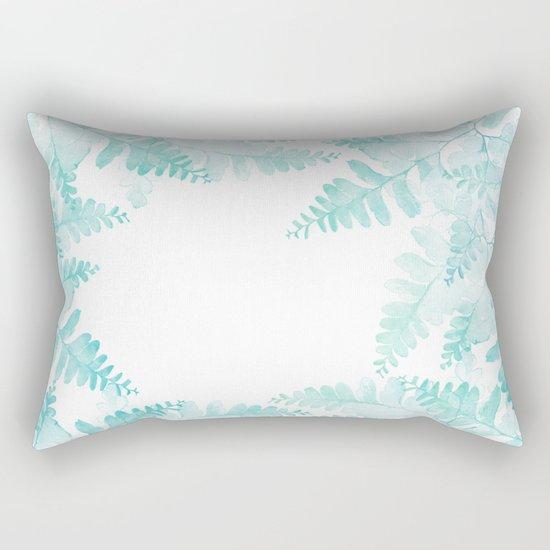 Ferns Jungle Rectangular Pillow