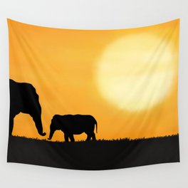 Parenting on the Horizon Wall Tapestry