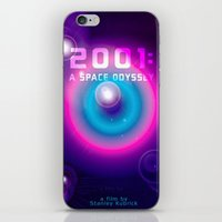 2001 iPhone & iPod Skins featuring 2001 a Space Odyssey by Scar Design
