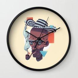 Humo y sabor Wall Clock