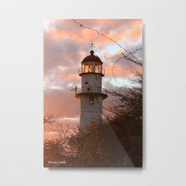 Follow the Light Home Metal Print