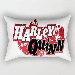 Harley Quinn Logo Rectangular Pillow