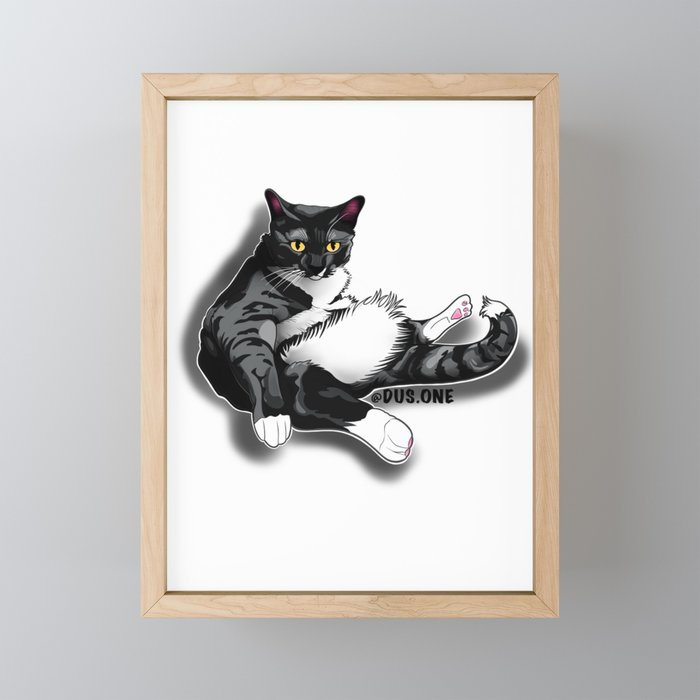 Mr. Gizzy Framed Mini Art Print
