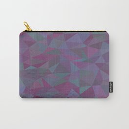 Purple Pieces Carry-All Pouch