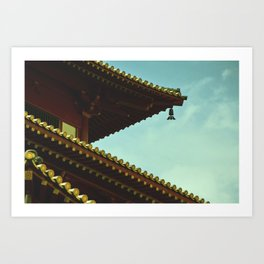 tile roof Art Print