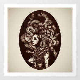 Estero Gorgon Art Print