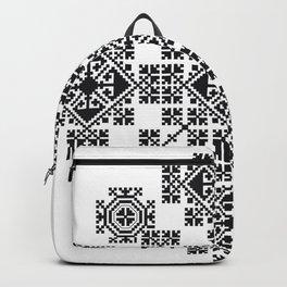 Zmijanje Embroidery Motif v1 Backpack