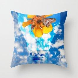 Flowering Bulb Throw Pillow