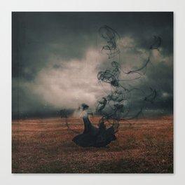 The Dissipate Canvas Print