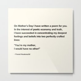 Mothers Day V Metal Print