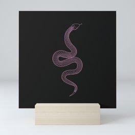 Tell Me - Snake Illustration Mini Art Print