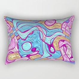 Decorations of a bizarre shape Rectangular Pillow
