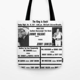 #4 Memphis Wrestling Window Card Tote Bag