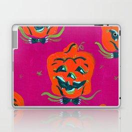 Purple Happy Jacks Laptop & iPad Skin