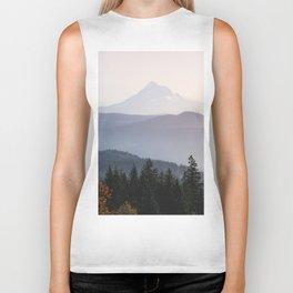 Mount Hood over the Columbia River Gorge Biker Tank