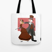 valentine Tote Bags featuring Valentine by Brianna