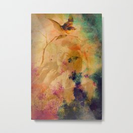 Somewhere Over There, Daydreaming Metal Print