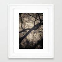 shadow Framed Art Prints featuring Shadow by Maria Heyens