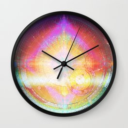 World Yantra Wall Clock