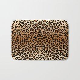 leopard pattern Bath Mat