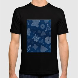 Diatoms - microscopic sea life T-shirt