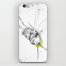 It just keeps coming back iPhone Skin