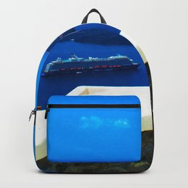 Door in the paradise Backpack