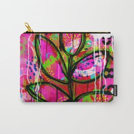 Leaves painting - Abstract Carry-All Pouch