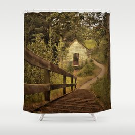 The Lamp House Shower Curtain