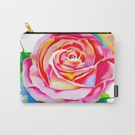 colorful rose  Carry-All Pouch