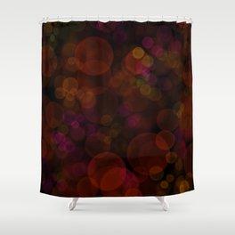 Fire Lights Shower Curtain