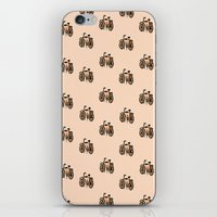 bikes iPhone & iPod Skins featuring Bikes by andy_panda_