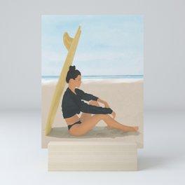 Surfboard Shade Mini Art Print