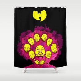 Wu-Tang Purple Haze Shower Curtain