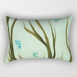 Fairies in Spring by Twelve Little Tales Rectangular Pillow
