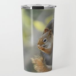 Wheeeee Goes The Squirrel Travel Mug