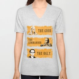 The good, the commander and the ugly - The 100 Unisex V-Neck