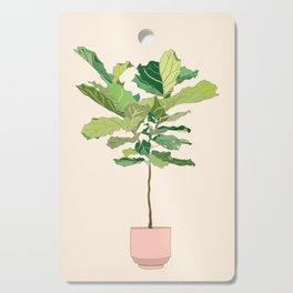 Fiddle Leaf Fig Cutting Board