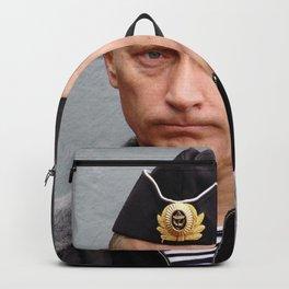 Putin seaman. Backpack
