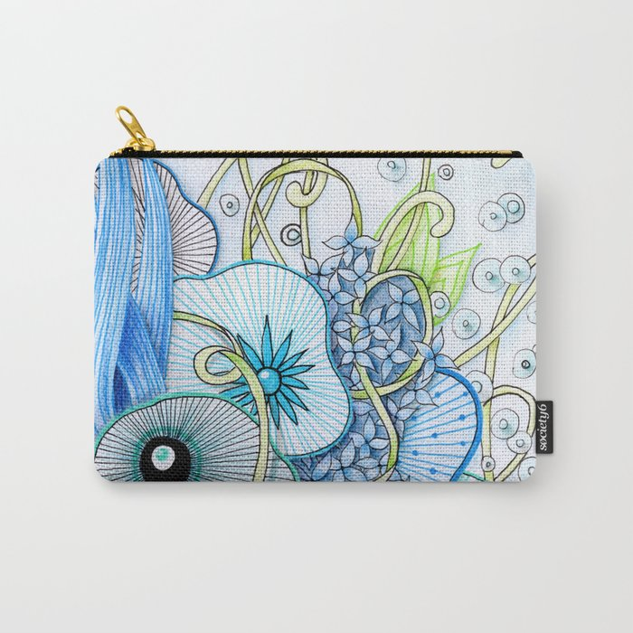 Summer Day Underwater Carry-All Pouch
