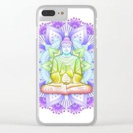 Color Mandala Clear iPhone Case