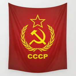 CCCP Cold War Flag Wall Tapestry