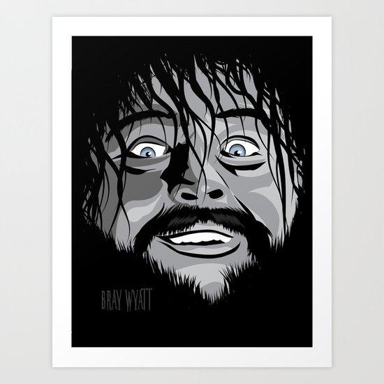 WWE - Bray Wyatt Art Print