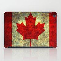 canada iPad Cases featuring Oh Canada! by Bruce Stanfield