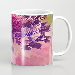 Flat Flower Cartoon Coffee Mug