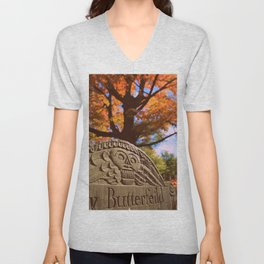 Beauty in Death Unisex V-Neck