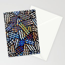 stripey licorice Stationery Cards