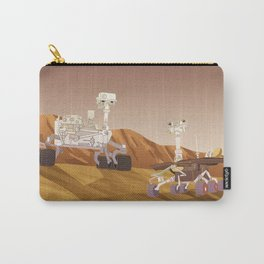 Curiosity and Opportunity Carry-All Pouch
