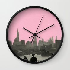 New York Nights Wall Clock